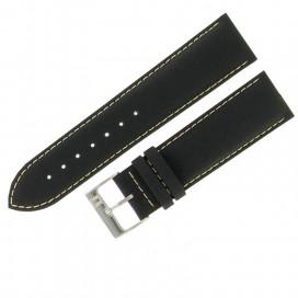 Ремешок Tissot для часов Gents XXL, 22 мм, черный