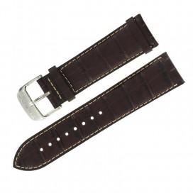 Ремешок Tissot для часов V8, 22 мм, коричневый
