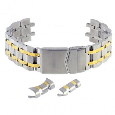 Литой мультисистемный браслет Stailer модель 83802 биколор