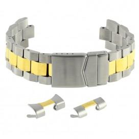 Литой мультисистемный браслет Stailer модель 84002 биколор