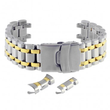 Литой мультисистемный браслет Stailer модель 84102 биколор