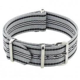 Ремешок NATO G10 Stripes Grey