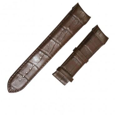Ремешок Tissot для часов Couturier, коричневый, 24 мм, XL