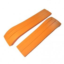 Ремешок Tissot для часов Racing-Touch, оранжевый, 23 мм