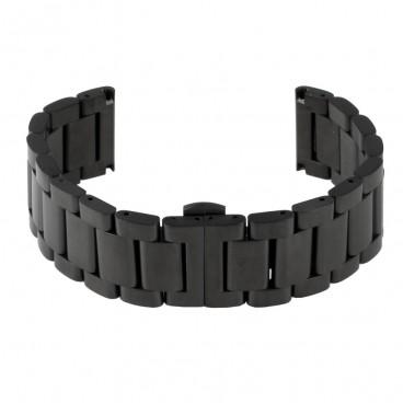 Черный литой браслет Mod. 104