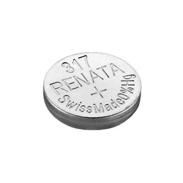 Батарейка Renata 317 (SR516SW, SR516, SR62), 2 шт.