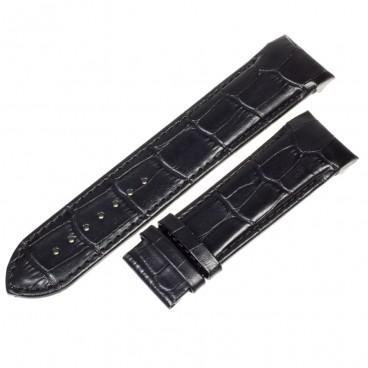 Ремешок Tissot для часов Couturier, черный, 24 мм, XL