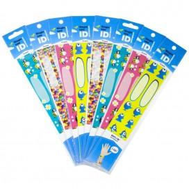 infoband once - одноразовый детский ID браслет, 10 шт.