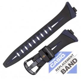 Ремешок CASIO CHR-100, черно-синий, 10210960