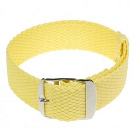 Перлоновый ремешок, бледно-желтый