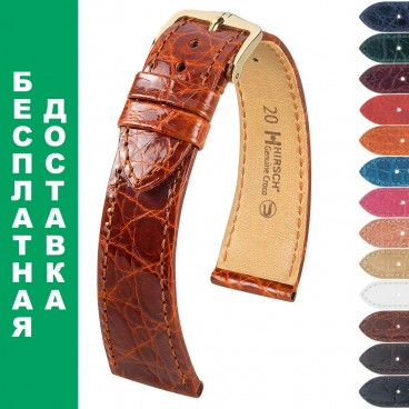 Ремешок HIRSCH Genuine Croco