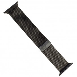 """Миланский браслет """"Milanese loop"""" для Apple Watch 38mm, черный"""