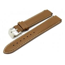 Кожаный ремешок Tissot для часов Atollo (T12.1.416.52), коричневый