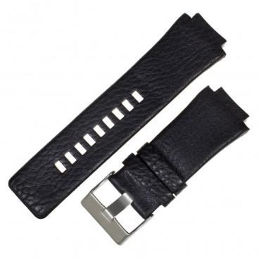 Черный ремешок для часов DIESEL 20X30X26 мм