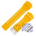 Ремешок CASIO GA-100A, оранжевый, 10366711 (10347701)