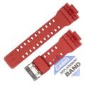 Ремешок CASIO GA-100B, красный, 10395226