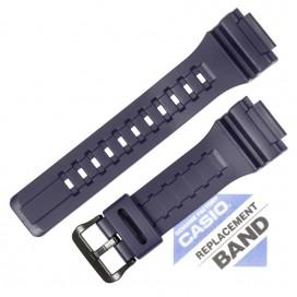 Ремешок CASIO AQ-S810W, AEQ-110W, W-735H, синий, 10410726 (10437937)