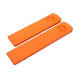 Каучуковый ремешок Tissot для часов T-Touch (Z250/251, Z351), г.в. до 2005, оранжевый