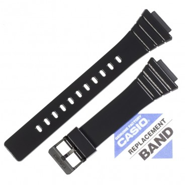 Ремешок CASIO W-215H, черный, 10435844