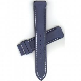Кожаный ремешок Tissot для часов T-Touch (Z252/352), синий