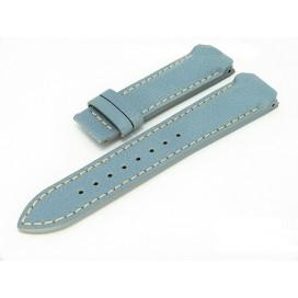 Кожаный ремешок Tissot для часов T-Touch (Z252), голубой