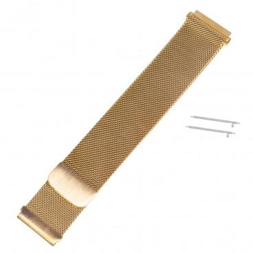 Золотисто-розовый Mesh браслет на магнитной застежке
