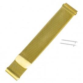 Золотистый Mesh браслет на магнитной застежке