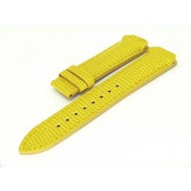 Кожаный ремешок Tissot для часов T-Touch (Z252/253), желтый