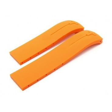 Каучуковый ремешок Tissot для часов T-Touch Expert, оранжевый