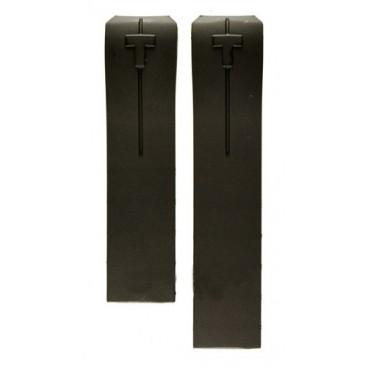 Каучуковый ремешок Tissot для часов T-Touch Expert, черный