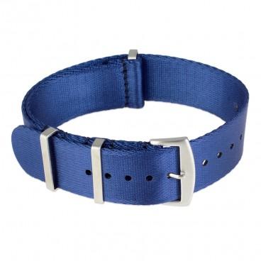 Ремешок NATO Seatbelt синий