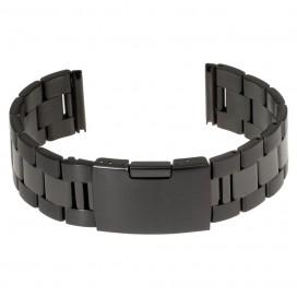 Черный литой браслет модель 601B