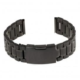 Черный литой браслет модель 602B