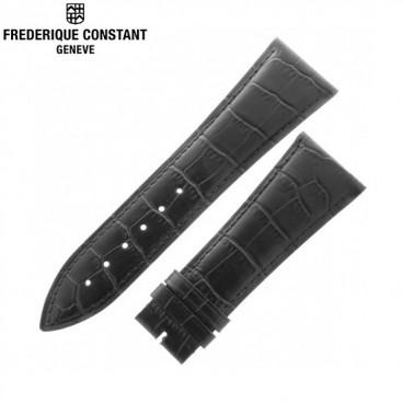 Ремешок Frederique Constant, черный 26,5 мм