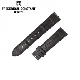 Ремешок Frederique Constant, черный 16 мм
