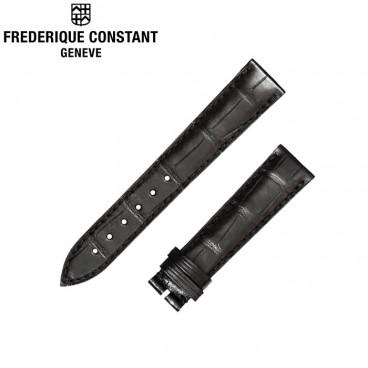 Ремешок Frederique Constant, черный 18 мм