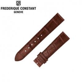 Ремешок Frederique Constant Slimline, коричневый 14 мм