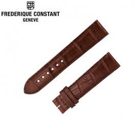 Ремешок Frederique Constant, коричневый 20 мм