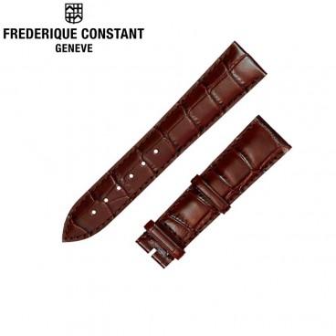 Ремешок Frederique Constant, коричневый 21 мм