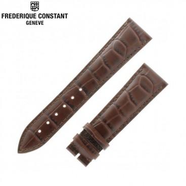 Ремешок Frederique Constant, коричневый 22 мм