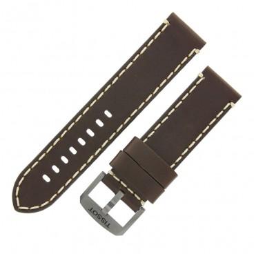 Ремешок Tissot для часов Chrono XL, коричневый, 22 мм