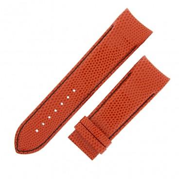 Ремешок Tissot для часов Couturier, оранжевый, 24 мм