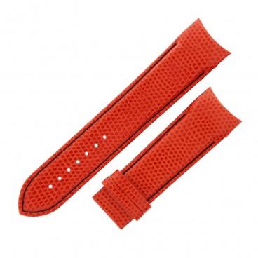 Ремешок Tissot для часов Couturier, оранжевый, XL, 24 мм