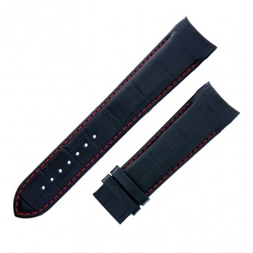 Ремешок Tissot для часов Couturier, чёрный, 23 мм