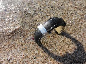 Кожаный водостойкий ремешок для часов HIRSCH Heavy Calf