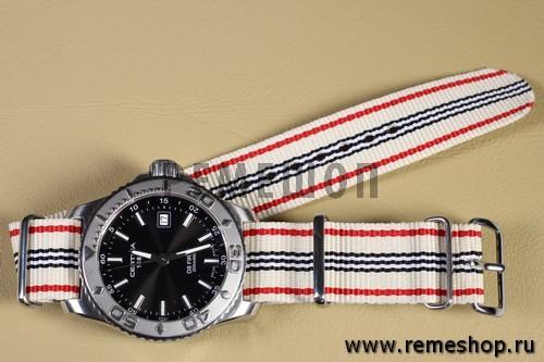 Ремешок NATO G10 Stripes на часах