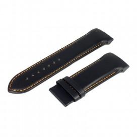 Ремешок Tissot для часов Couturier (T035614, T035627), 24 мм, черный