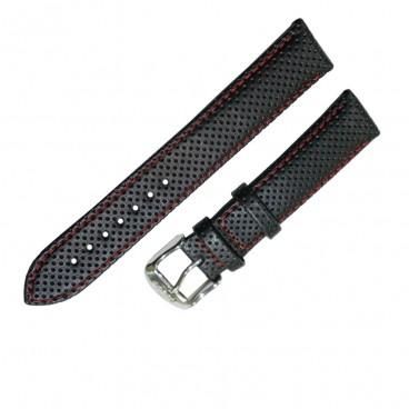Ремешок Tissot для часов PR 100, черный, 19 мм