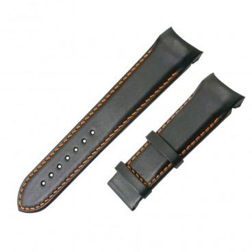 Ремешок Tissot для часов Couturier, черный, 22 мм