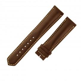 Коричневый ремешок Longines Grande Vitesse, гладкая кожа